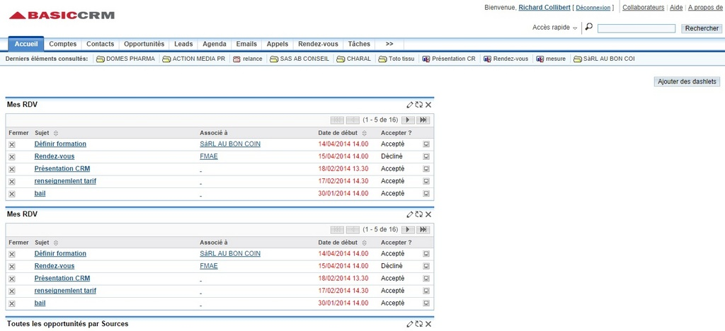 BasicCRM: Tasks and Notes, Service Level Agreement (SLA), Account Management