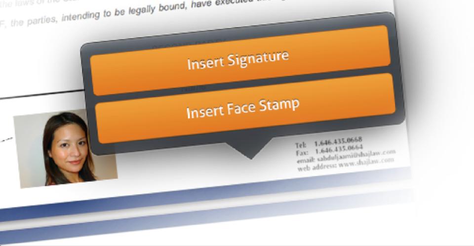 iPEGS Electronic signature