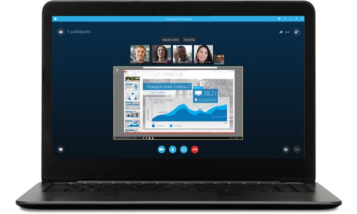 Online meetings with Skype