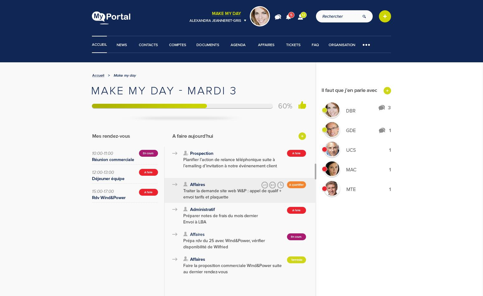 MyPortal CRM Campaign Management, Opportunity Management, support (phone, email, ticket)