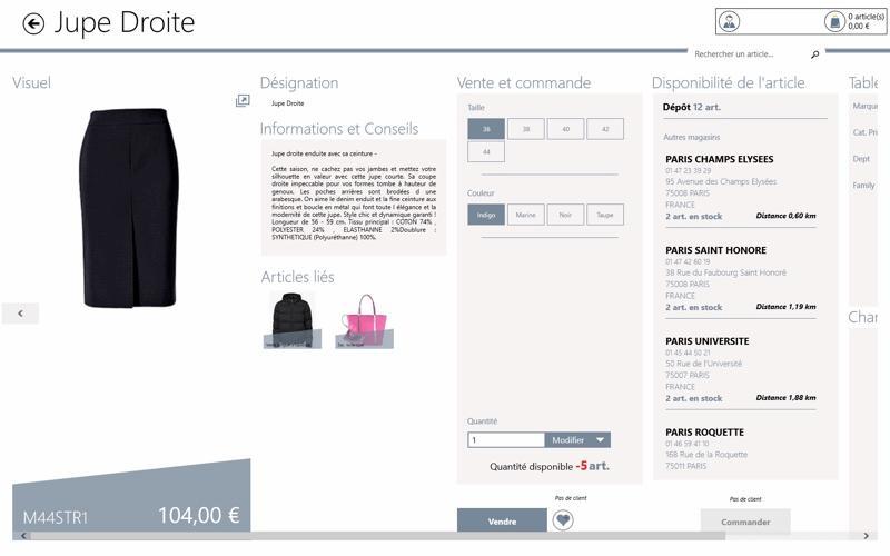 Yourcegid Retail: product datasheet