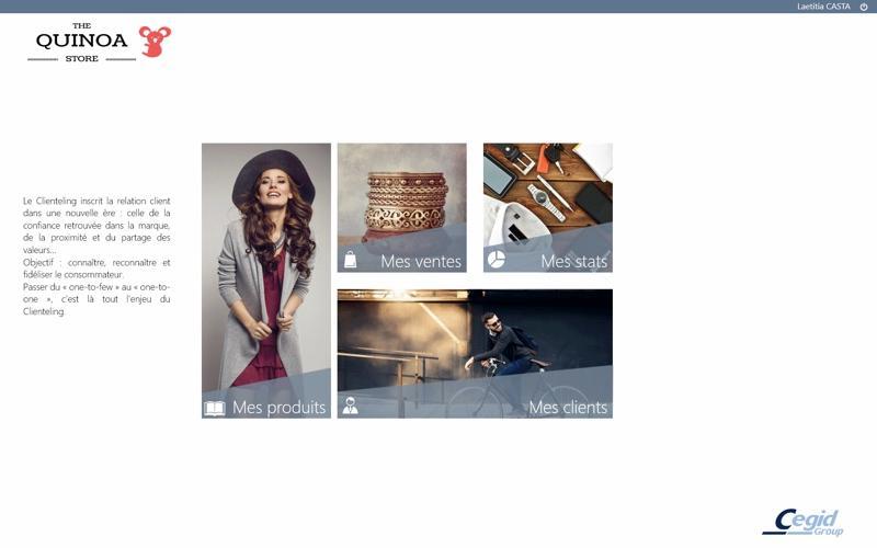 Yourcegid Retail: ecommerce website