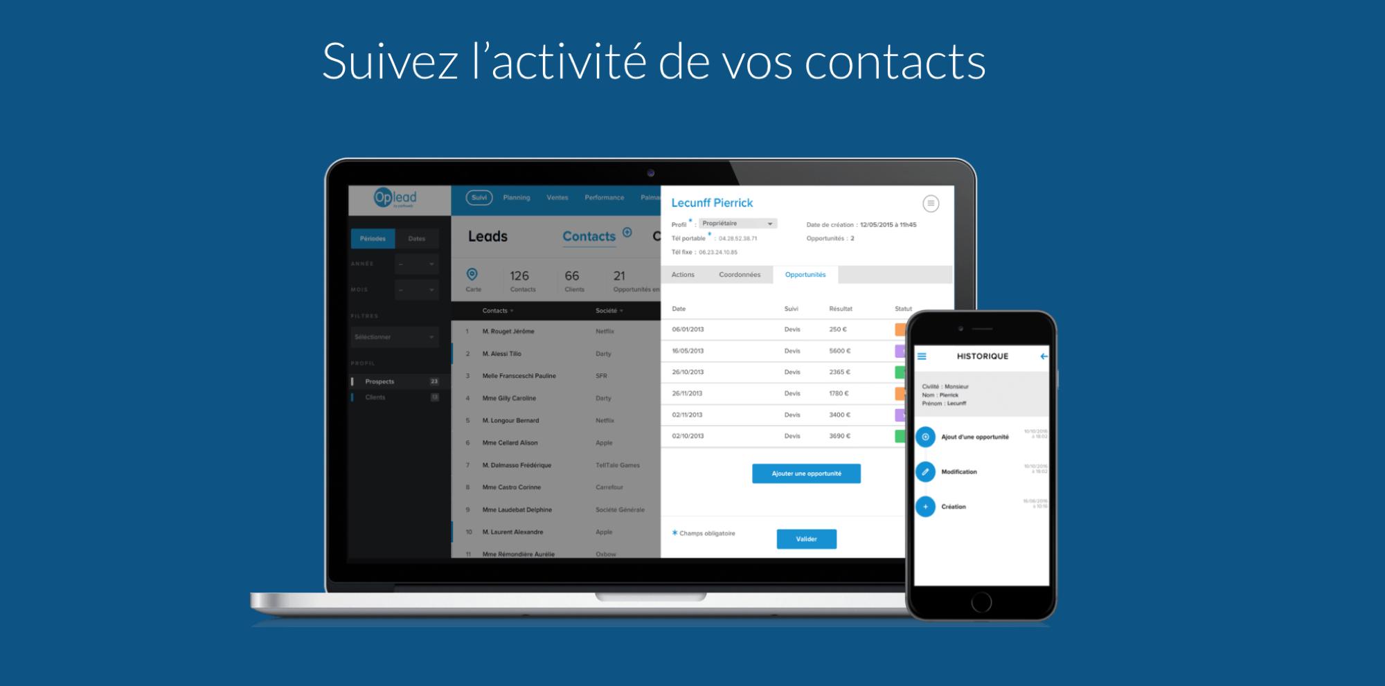 contact Follow