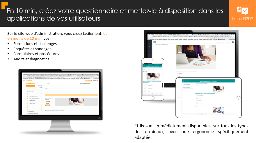 dynamic questionnaires created in 10 minutes to be made available on