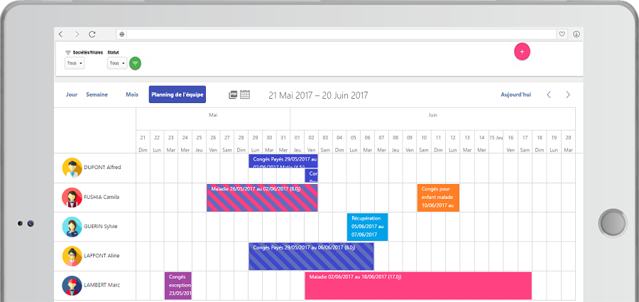 Software Planning leave