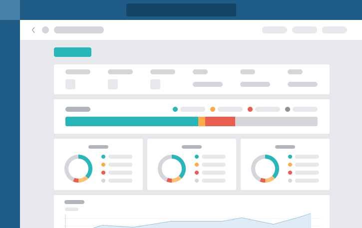 With Project Analytics, it's easy to keep track of a project's progress and identify bottlenecks before they arise. See how the team is progressing against the deadline - neatly organized in charts and progress bars.