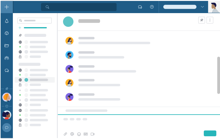 Taskworld's integrated project, group, and private chats make it easy to stay in touch with your team - even if you're working from the other side of the world.