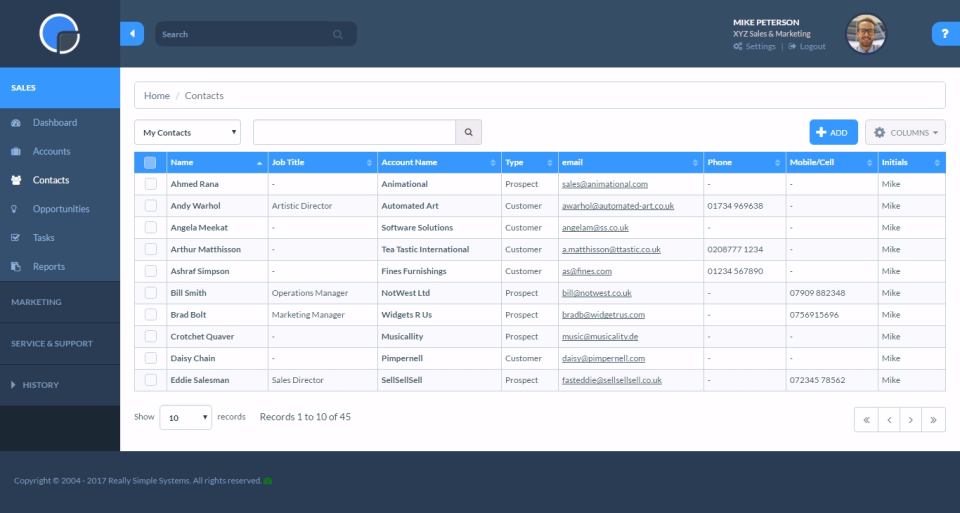 Really Simple Systems CRM-screenshot-2