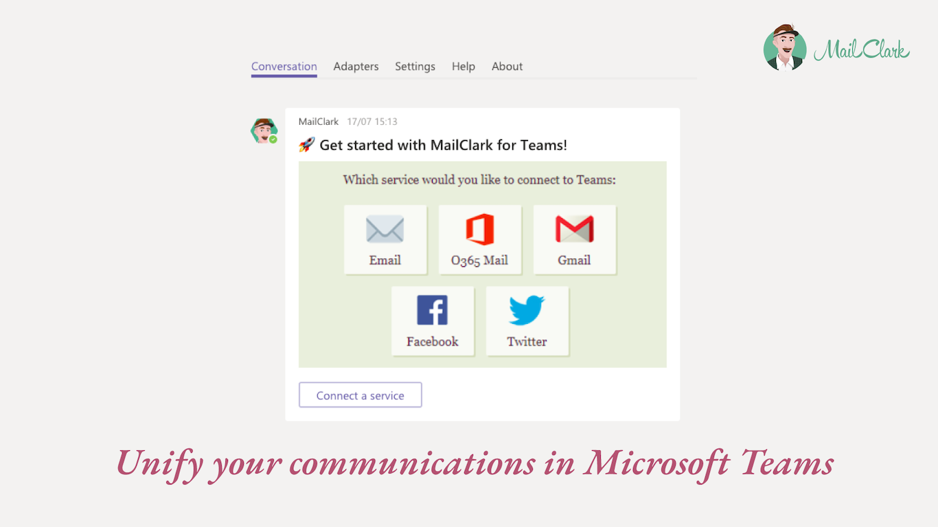MailClark for Microsoft Teams