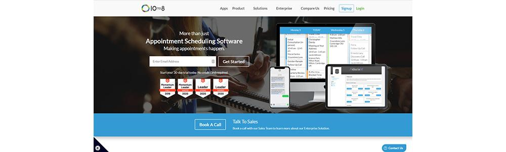 Review 10to8: Appointment Scheduling Software - Appvizer