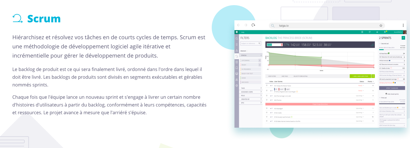 Review Taiga: Project Management Software - Appvizer