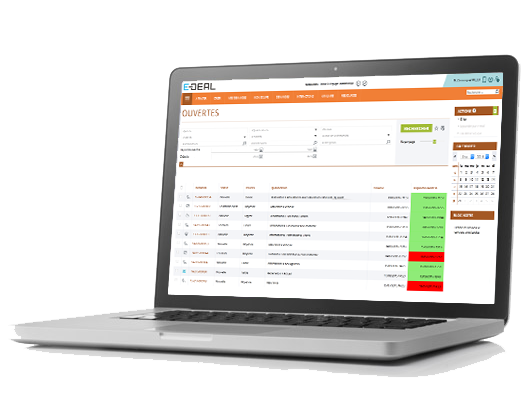 E-DEAL SERVICE Management of requests, solicitations with alert system
