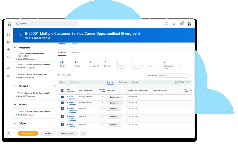 Workday Recruiting-screenshot-talent-acquisition-job-req-workspace-desktop-2
