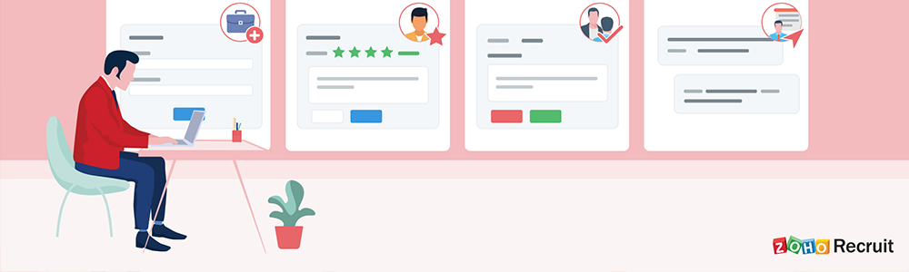 Review Zoho Recruit: Align your recruitment with your employer brand - Appvizer