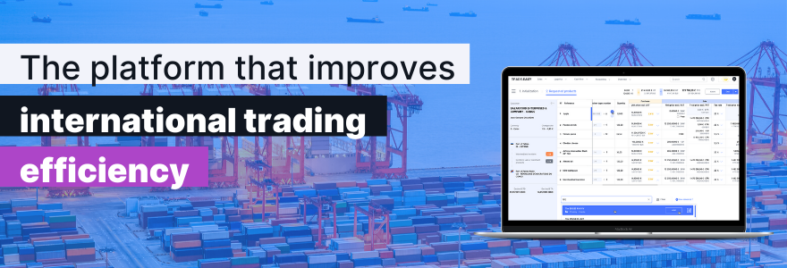 Review TRADE.EASY: International goods trading, import export, back-to-back - appvizer