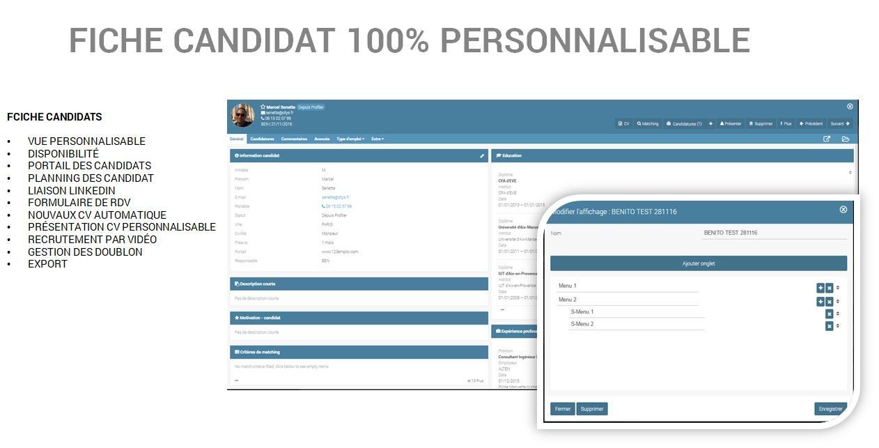 OTYS Recruiting Technology-Fiche candidat
