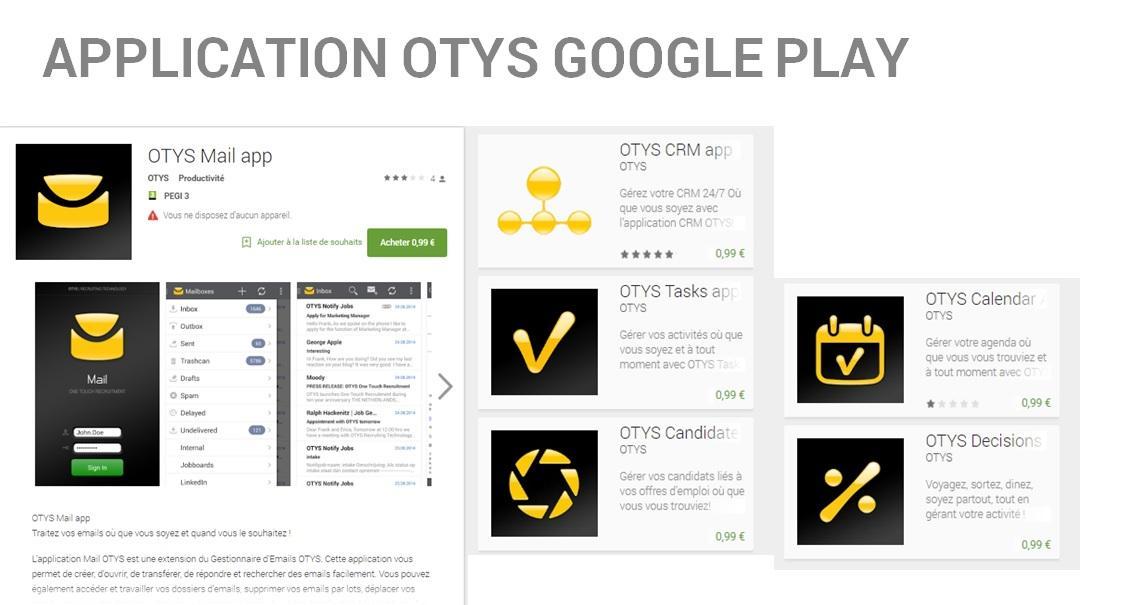 OTYS Recruiting Technology-GP app