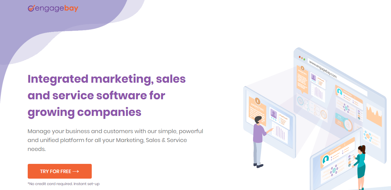 Review EngageBay: One software for all your business needs - Appvizer
