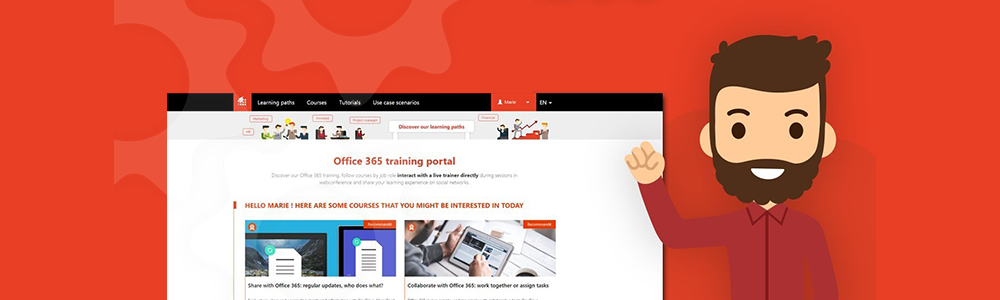 Review MOOC Office 365: A 100% digital and  human training solution - Appvizer