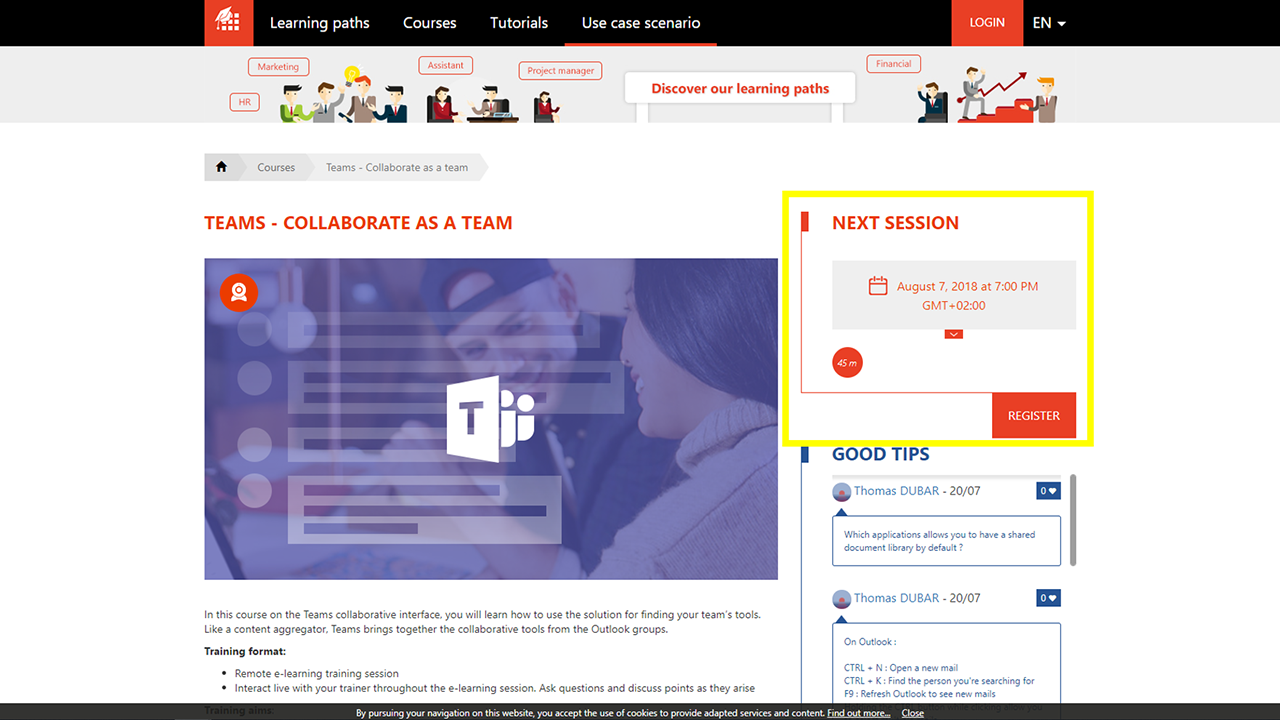 MOOC Office 365-MOOC_Office_365_live_sessions