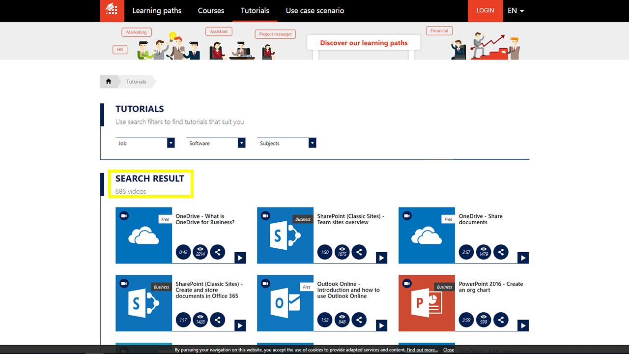 MOOC Office 365-MOOC_Office_365_tutorials
