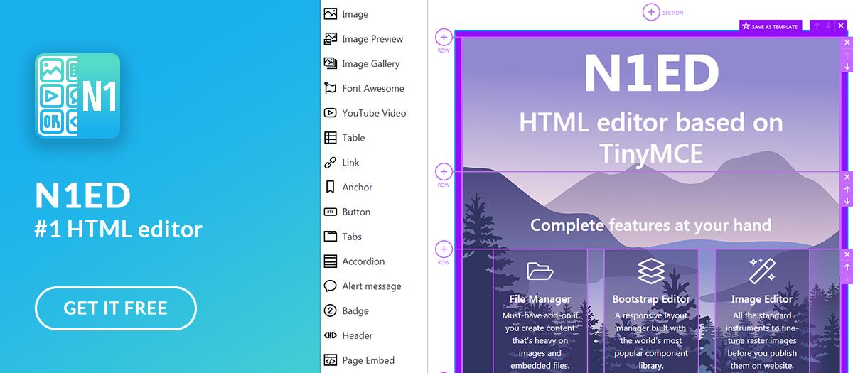 N1ED page builder-n1ed