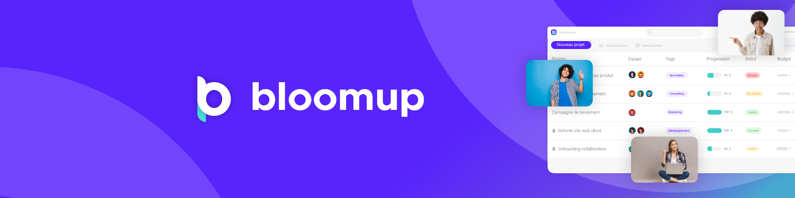 Review Bloomup: Project Management SaaS - appvizer