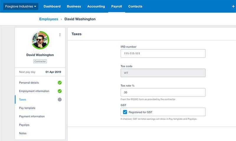 Xero Payroll-xero payroll sscreenshot