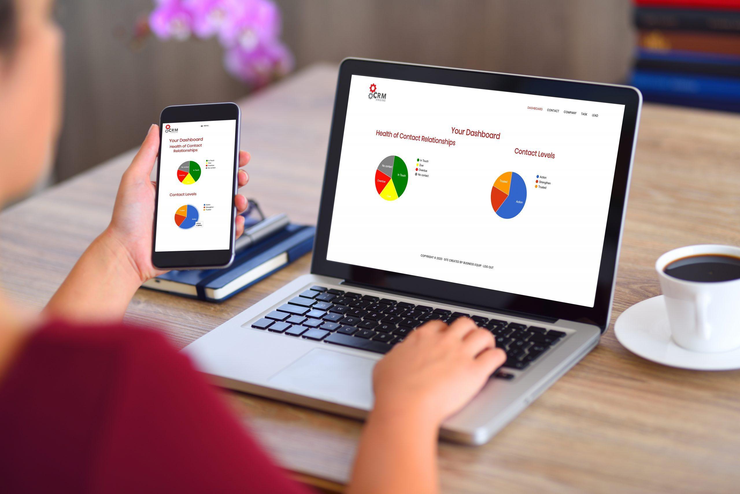Review CRM Engine: Bespoke Customer Management System - appvizer
