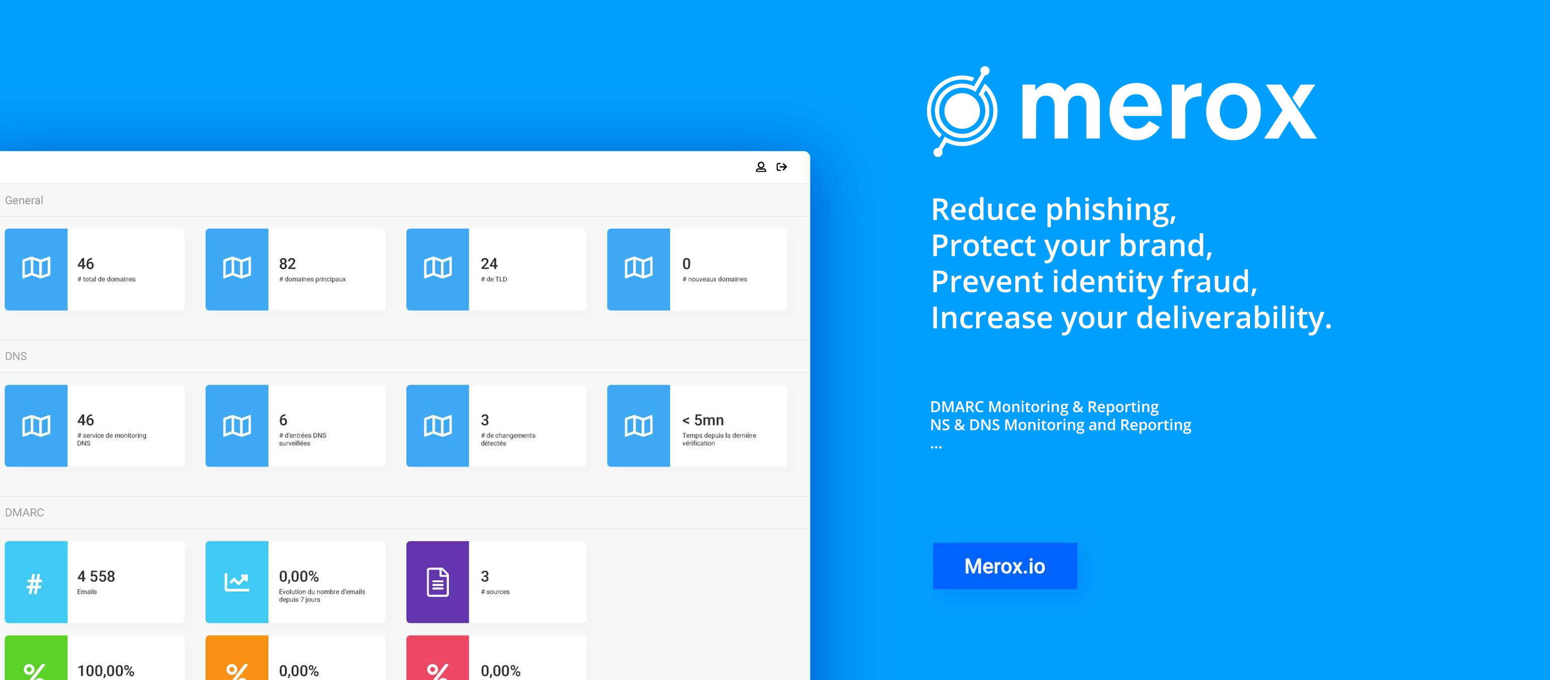 Review Merox: Secure your brand and email domains (DMARC) - Appvizer