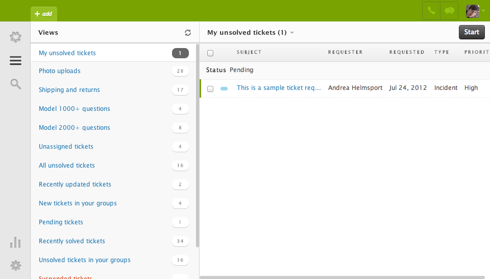 Zendesk: Mapping the domain name, customer profile, Case Management