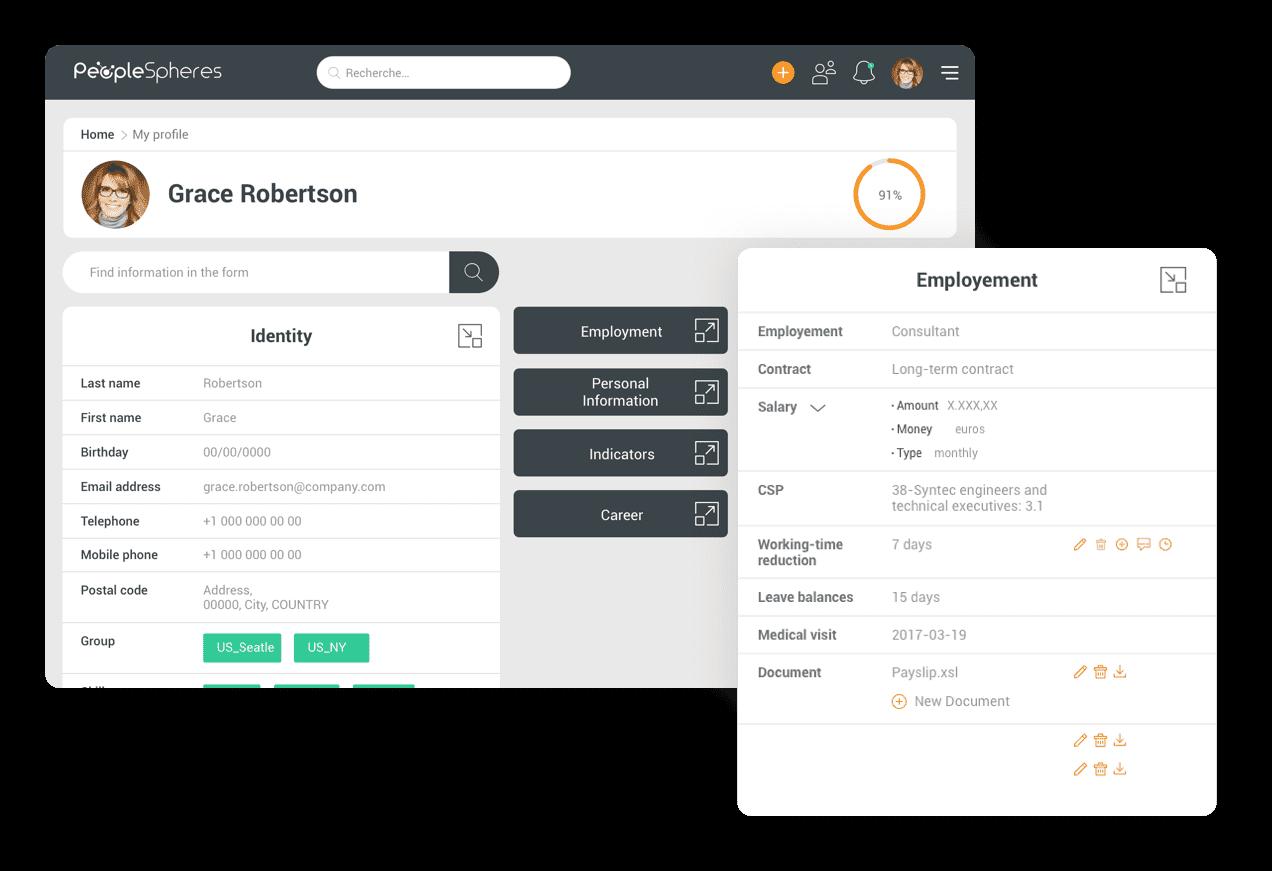 PeopleSpheres-employee-profile