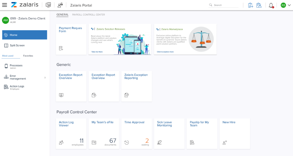 Review Zalaris HR & Payroll: Payroll outsourcing and Cloud HR solution - appvizer