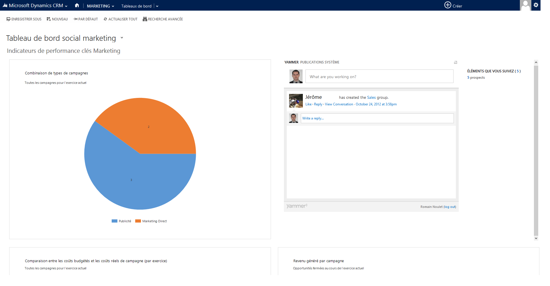 Microsoft Dynamics CRM: Contact type, insurance against loss of data, Labels