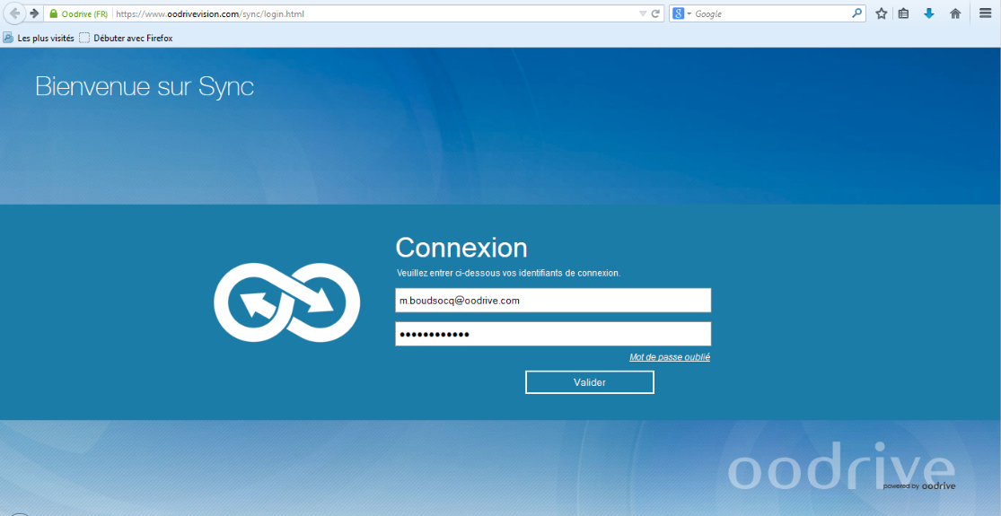 Oodrive Sync: Document Library, User Management, Community (FAQs, Forum)