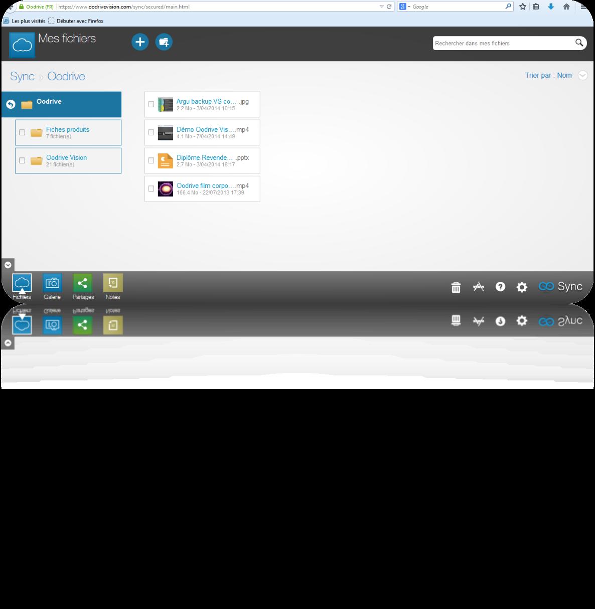 Oodrive Sync: Community (FAQ Forum) Sending documents by hyperlinks, APIs, Web service