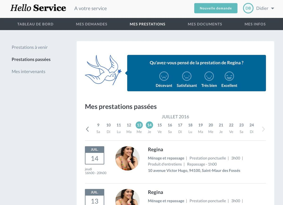 Ogust Marketplace: my past services