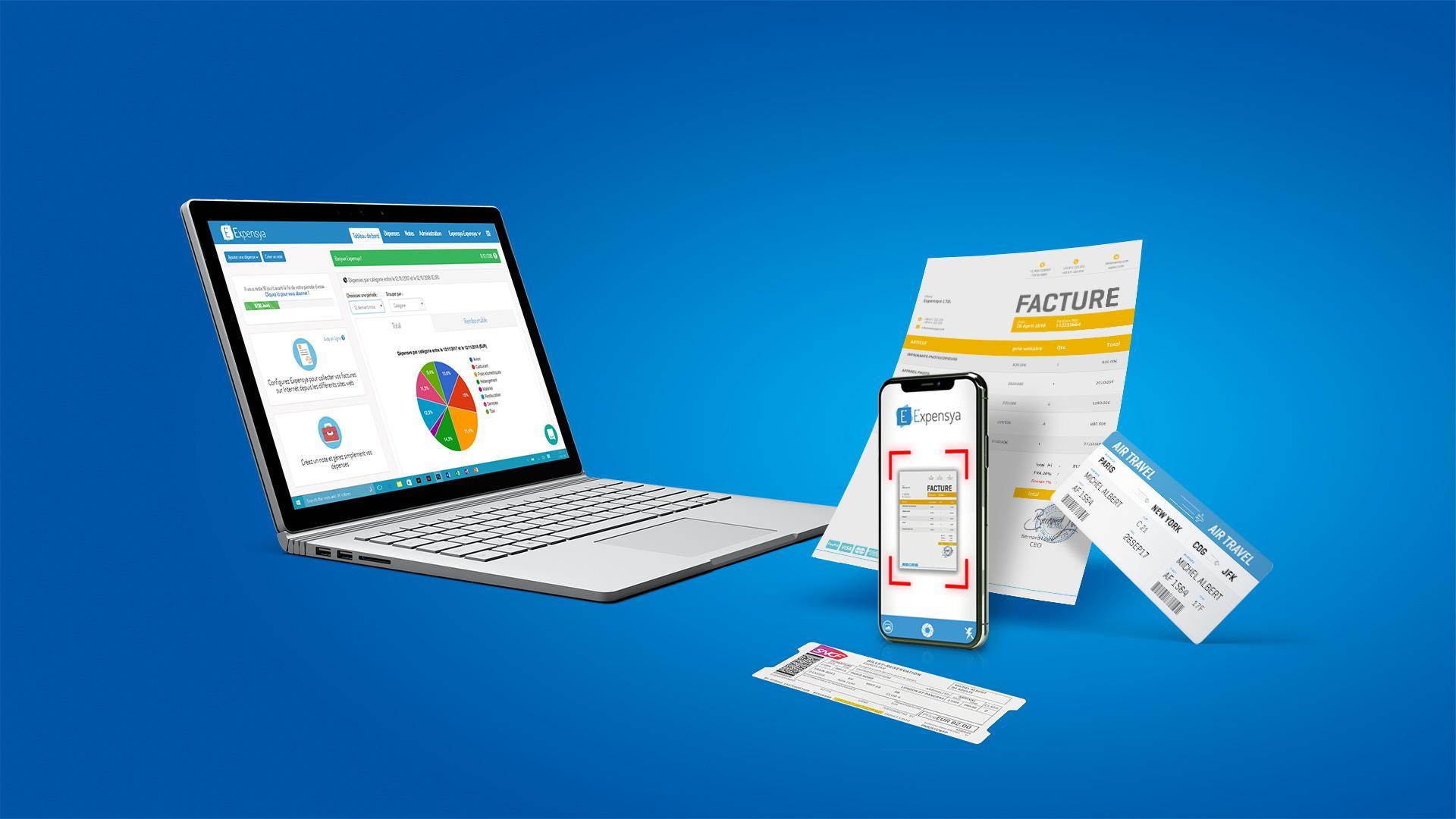 Expensya-Expensya Web et mobile 1 (small)
