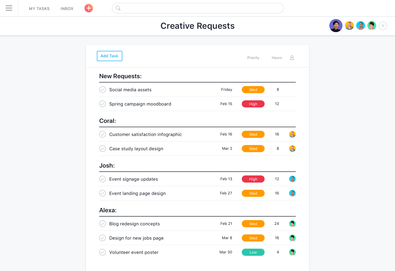 Asana project list, Asana: Task Manager, Secure Sockets Layer (SSL), Single Sign-On (SSO)