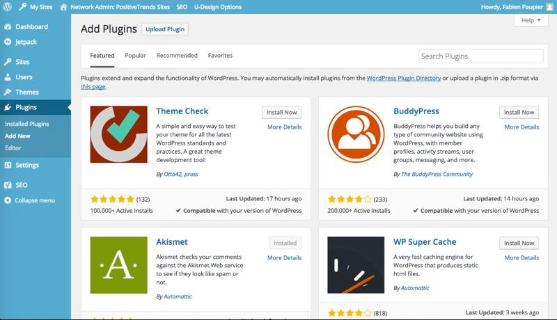 WordPress: Photos and videos, contact form, Responsive Design