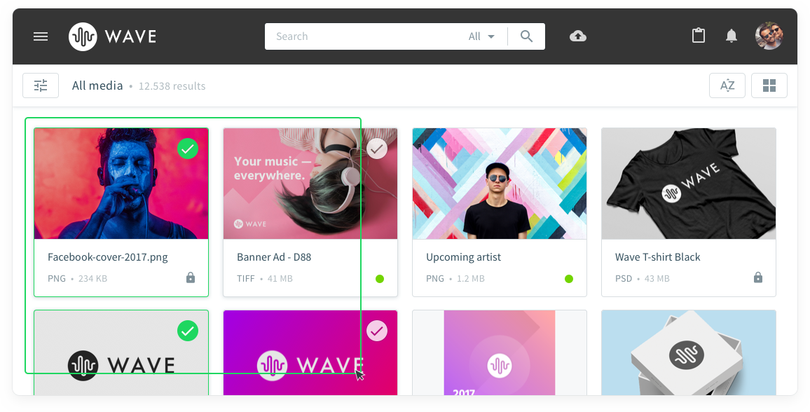 Customize your portal to the colors of your brand
