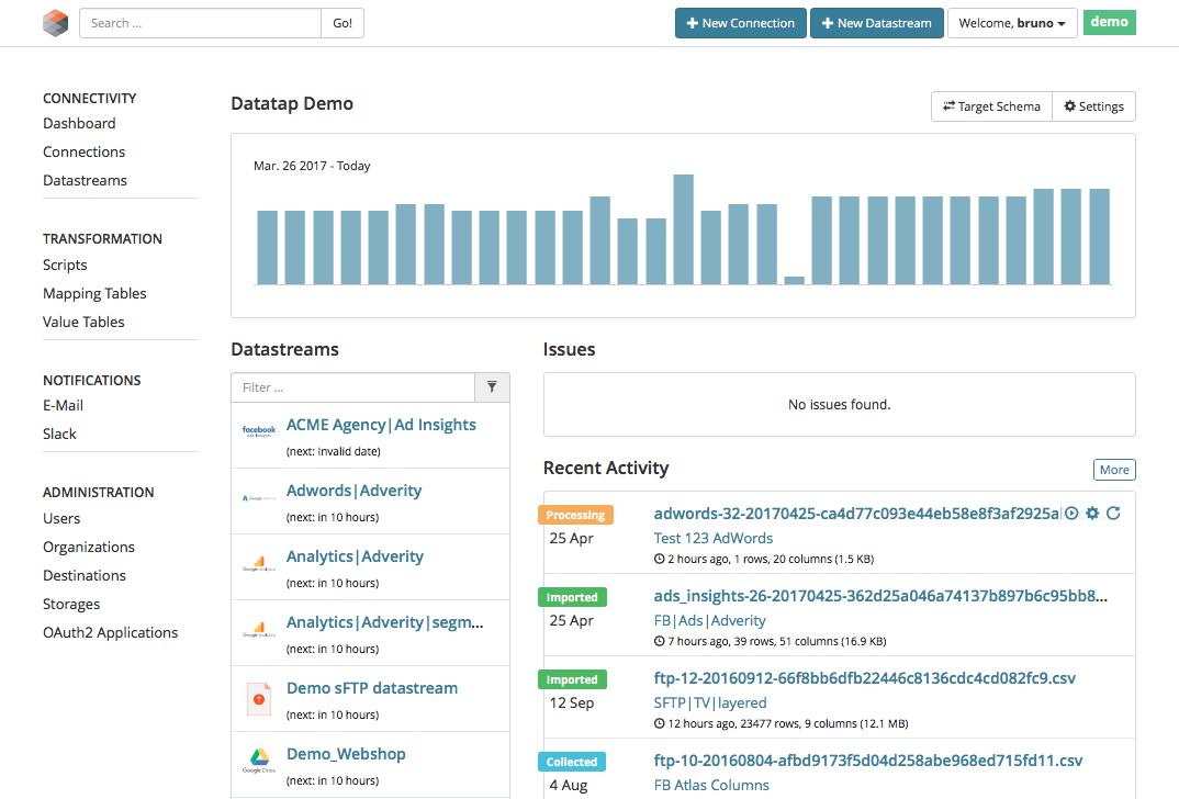 Review Adverity Datatap: Marketing Data Integration & ETL Platform - appvizer
